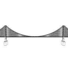 Golden Gate Bridge - San Francisco vector image