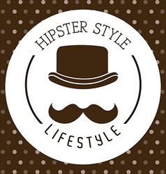 Hipster style vector