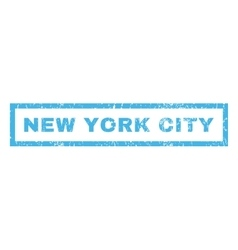 New York City Rubber Stamp vector image