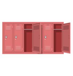 School locker vector
