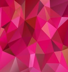 Vibrant pink magenta polygon triangular pattern vector