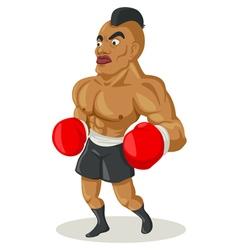 Boxer cartoon vector