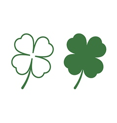 Leaf clover vector