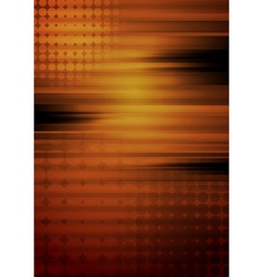 Abstract grunge tech design vector image