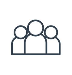 Avatars profiles line style icon design vector