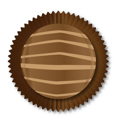 Chocolate box selection vector