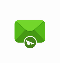 Email envelope mail send sent icon vector
