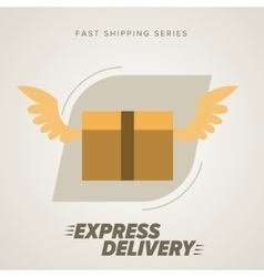 Express Delivery Symbols vector image