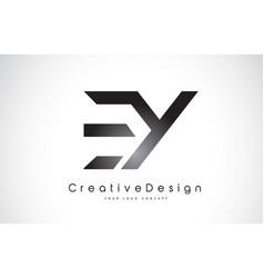 ey e y letter logo design creative icon modern vector image