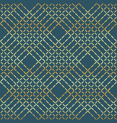 geometric golden line pattern seamless vector image