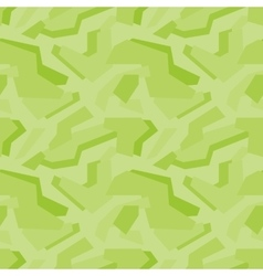 Geometric green camouflage seamless pattern vector