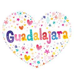 Guadalajara - city in mexico vector
