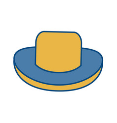 Hat accessory icon vector