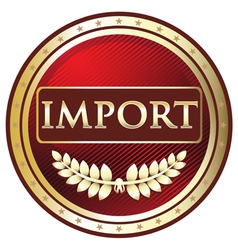 Import red label vector