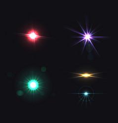 Lens effects set vector
