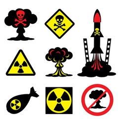 Radiation hazard vector