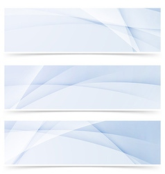 Swoosh smooth wave line abstract modern header vector