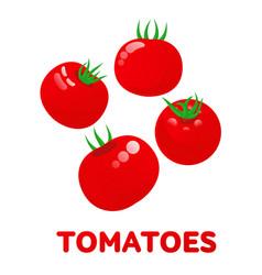 Tomatoes logo templates vector