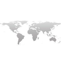 world map earth concept in flat style isolated on vector image