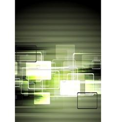 Dark tech design vector image vector image
