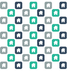 home icon background vector image