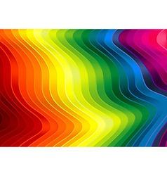 Rainbow Striped Texture vector image vector image