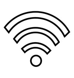 Wifi wireless or internet icon design vector image