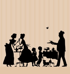 banquet vector image