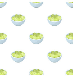 A plate of salad greensthe dark belgian wolf vector
