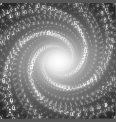 Data flow visualizationgrayscale big vector