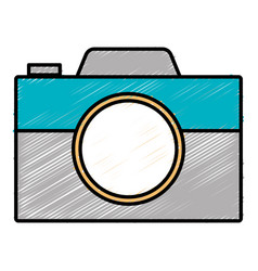 Digital photography camera vector