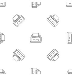 Laser printer pattern seamless vector