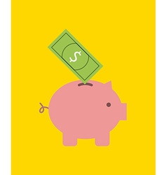 savings icon design vector image