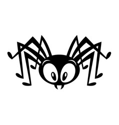 Spider bug insect graphic vector