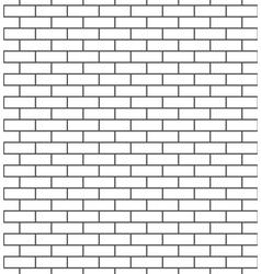 Brick wall seamless pattern classic vector image
