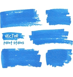 spot of paint drawn by felt pen vector image