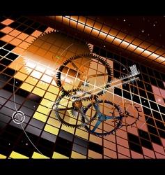 clockwork vertigo vector image vector image
