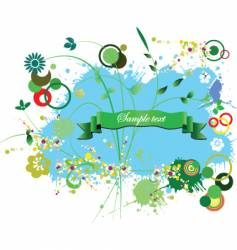 graphic decoration vector image vector image