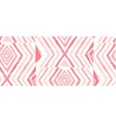 hand drawn navajo seamless patternaztec vector image