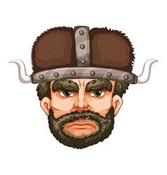 Viking warrior vector image vector image