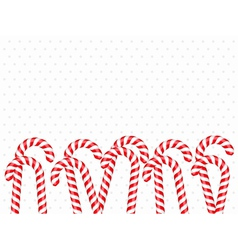 Candy Canes vector