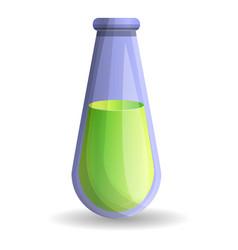 green potion icon cartoon style vector image