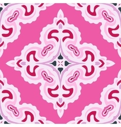 Pink abstract Seamless pattern tile vector image vector image