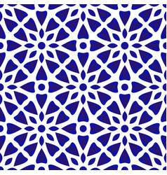Porcelain pattern vector