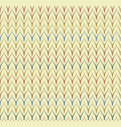 Seamless ethnic textile pattern vector
