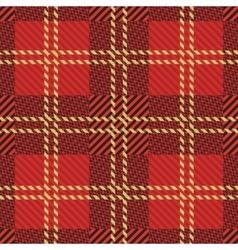 seamless tartan pattern vector image
