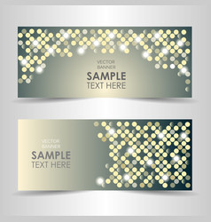 shining abstract background with space for text vector image