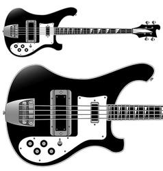 bass guitar vector image