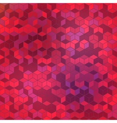 Cube Abstract background 1 vector image vector image