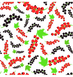Red black currents background painted pattern vector